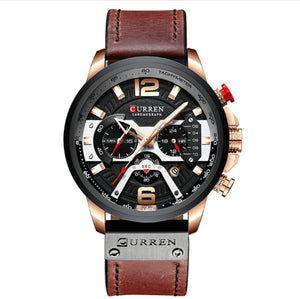 best affordable waterproof belt perpetual calendar watch for men