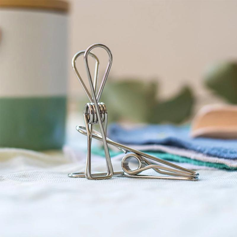 Stainless Steel Wire Clips for Clothes Drying
