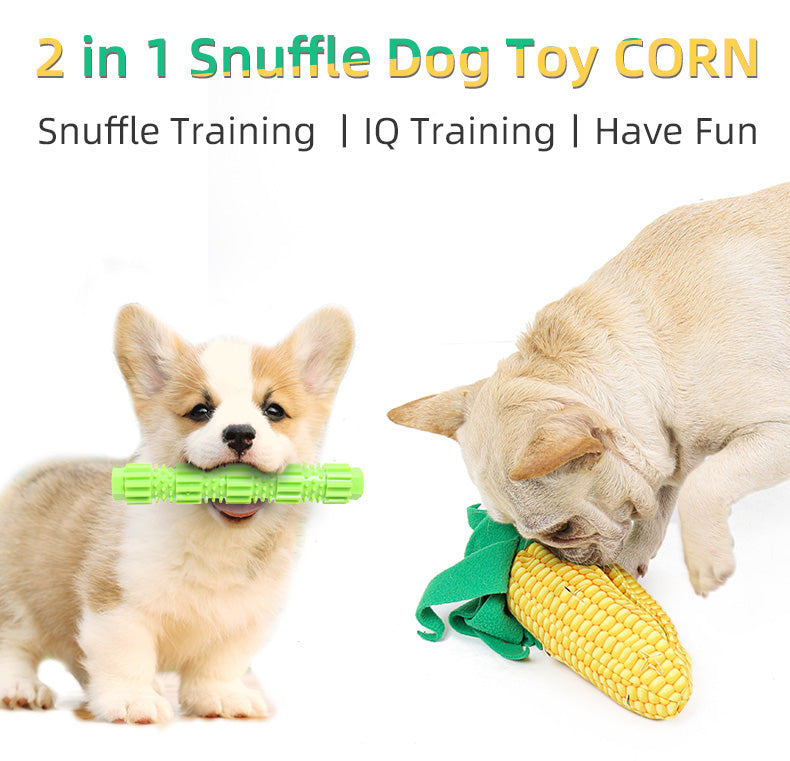 best multifunction pet snuffle mat sell corn shape puzzle dog chew toys