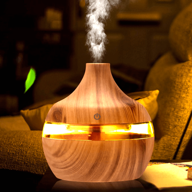 nebulizing essential oil diffuser