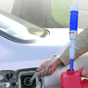 fuel siphon pump  handheld  battery operated