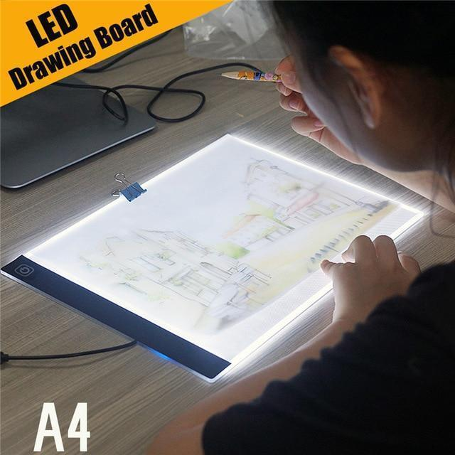 LED Artist Drawing Board