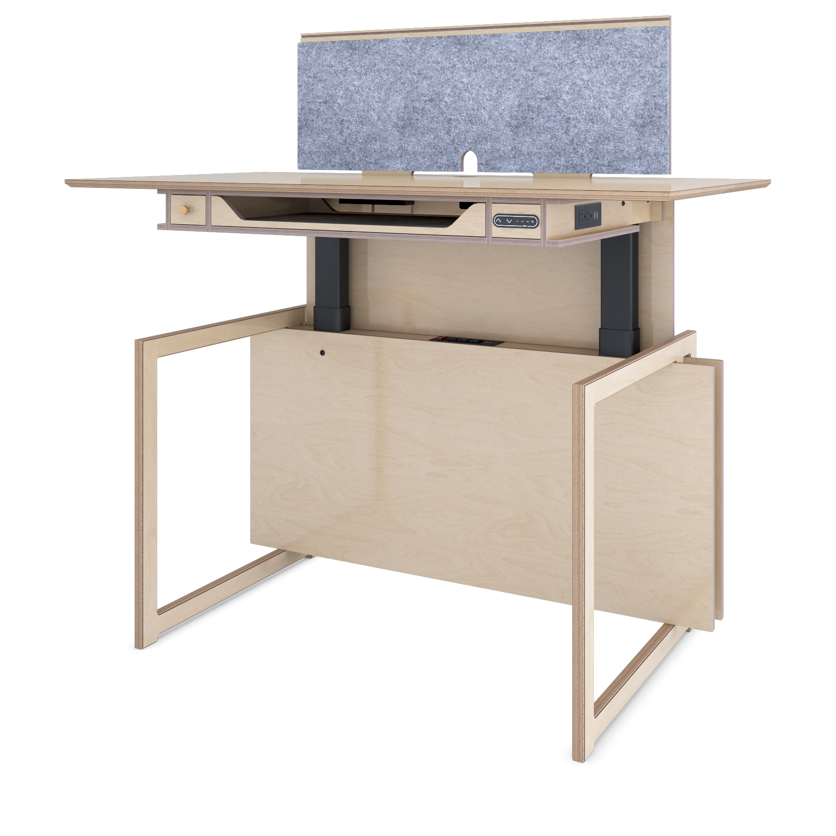 The Baltic Sit-Stand Desk