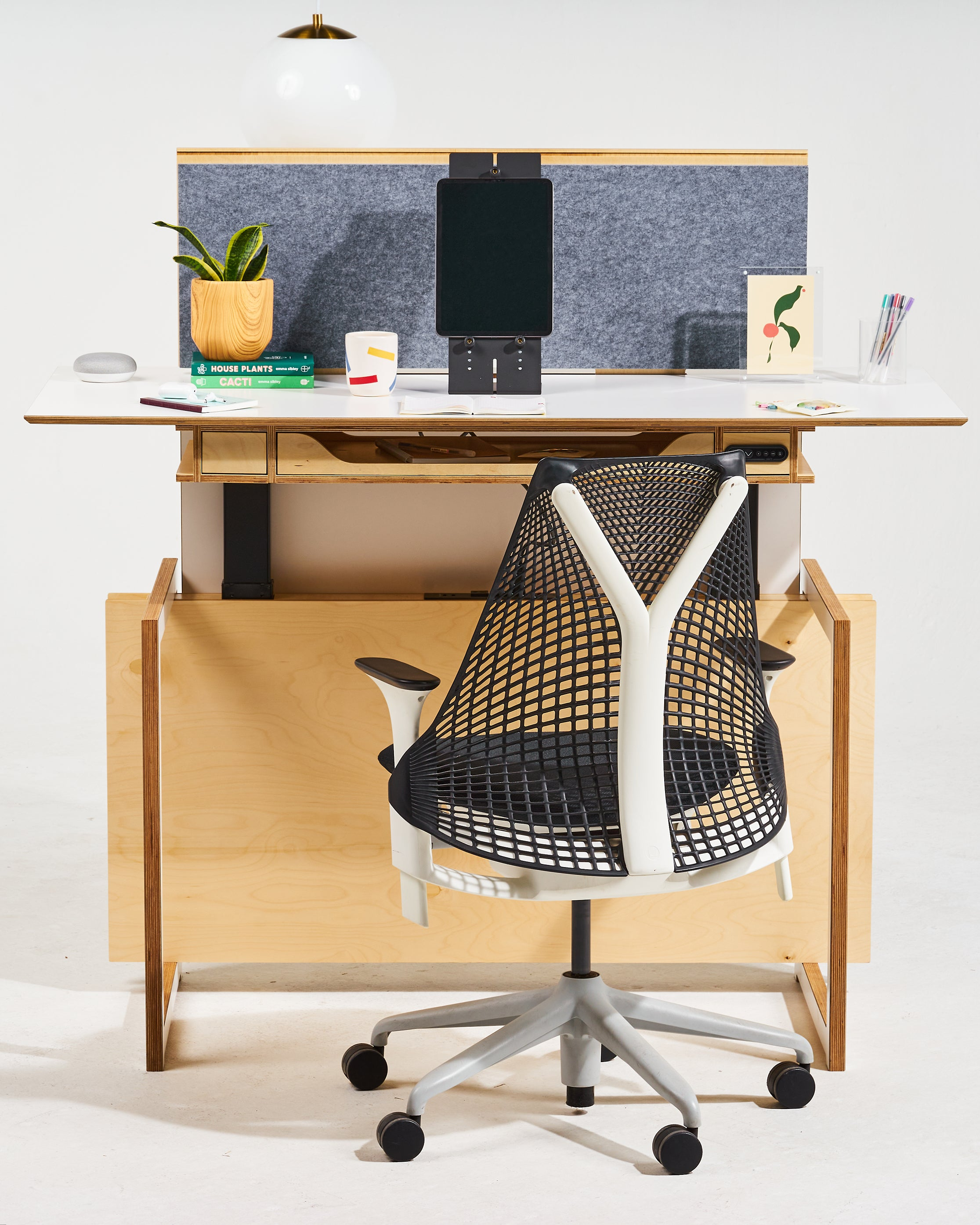 The Color Surface Sit-Stand Desk