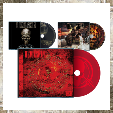 RED + BE LIKE THE RIVER + WE RISE bundle CD PACK