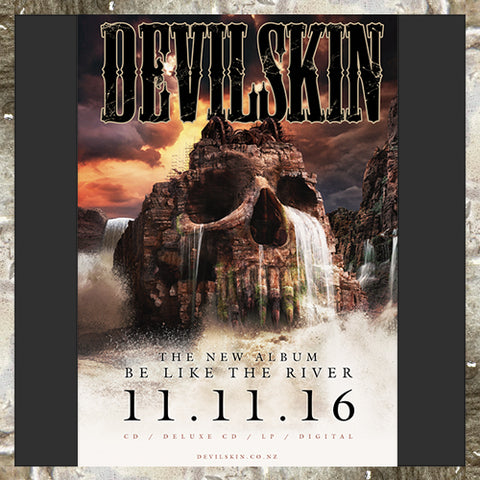 DEVILSKIN - Be Like the River Album Poster