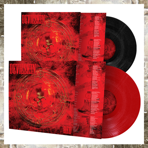 RED LP BUNDLE - Red & Black 180gm Vinyl