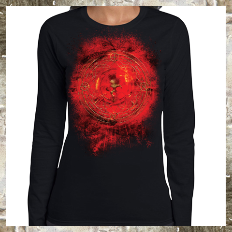 RED - TOUR LONG SLEEVE (Womens)