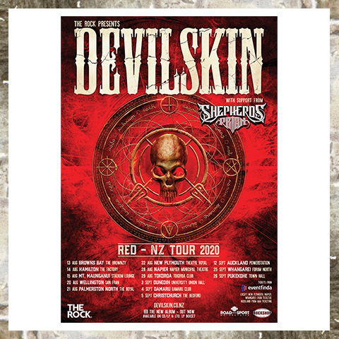 RED - NZ TOUR POSTER - Limited Time Only Tour Poster