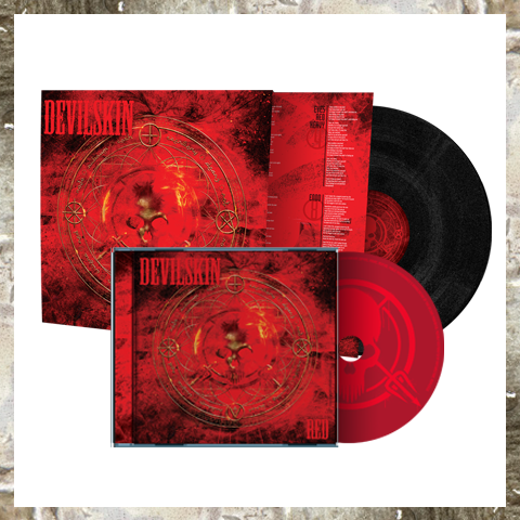 RED LP BUNDLE Black vinyl + CD