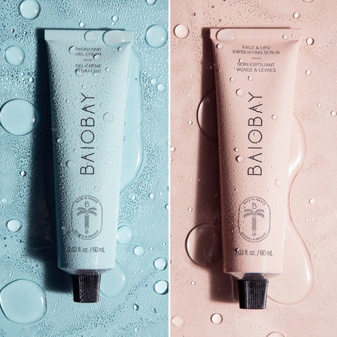 BAIOBAY - Duo Smooth and Glowing skin (Gel crème + gommage)
