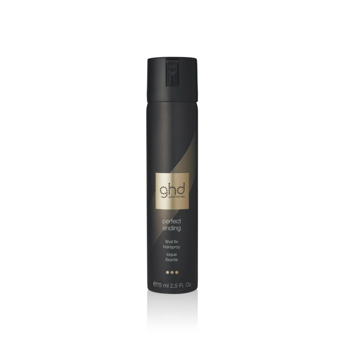laque fixante 75 ml ghd - perfect ending