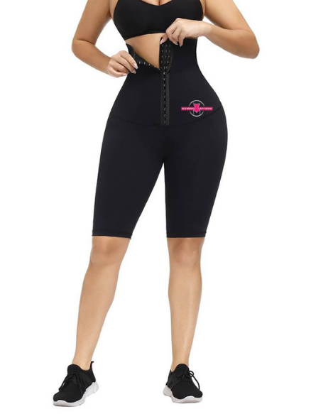 High Waist Tummy Control Compression Shorts