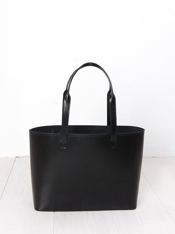 Paperthinks recycled leather small tote black