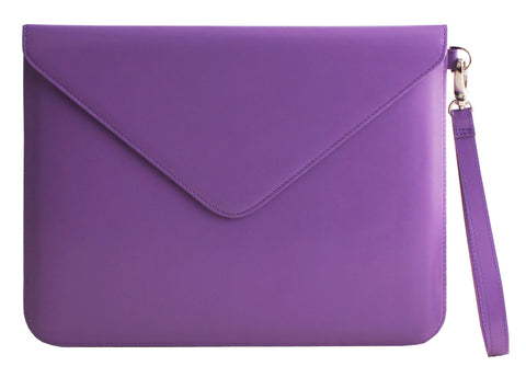 Paperthinks Recycled Leather Tablet Folio - Violet