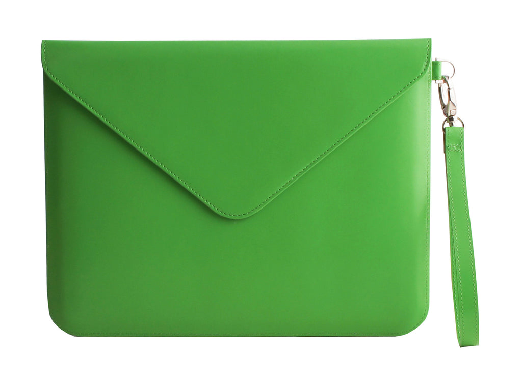 Paperthinks Recycled Leather Tablet Folio - Mint - Paperthinks.us