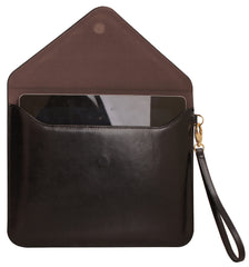 Paperthinks Recycled Leather Tablet Folio - Black - Paperthinks.us