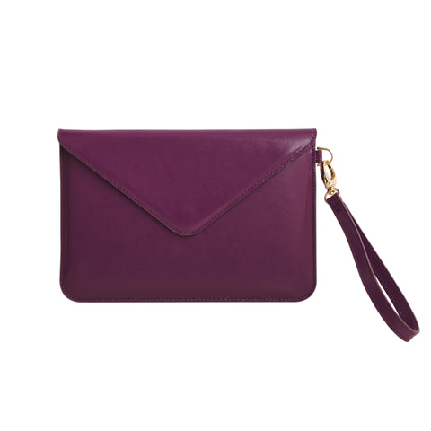 Mini Tablet Folio - Burgundy