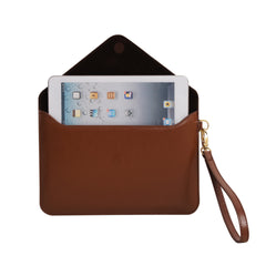 Mini Tablet Folio - Tan
