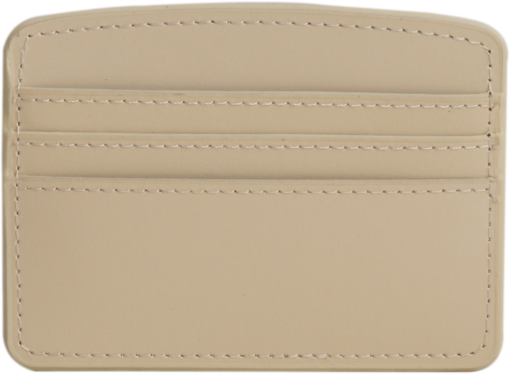 Paperthiks Recycled Leather Card Case - Ivory - Paperthinks.us
