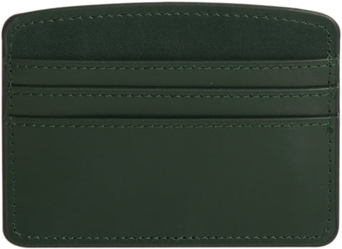Paperthinks Recycled Leather Card Case - Deep Olive