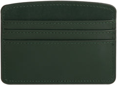 Paperthinks Recycled Leather Card Case - Deep Olive - Paperthinks.us