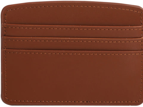 Paperthinks Recycled Leather Card Case - Tan