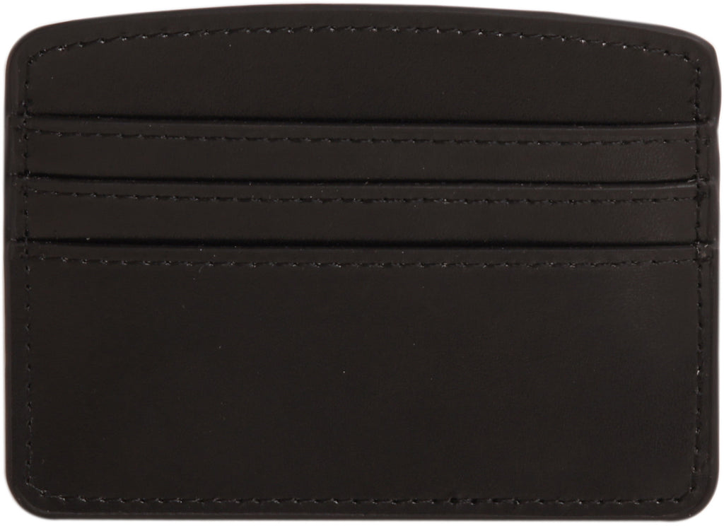 Paperthinks Recycled Leather Card Case - Black - Paperthinks.us