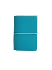 Memo Pad with Band - Turquoise