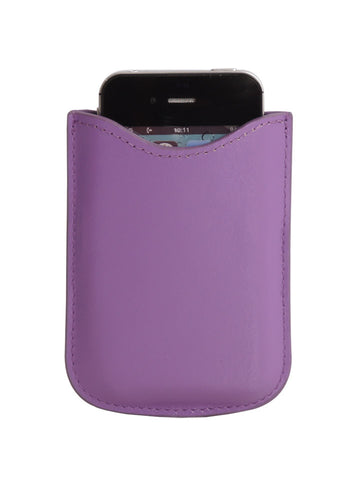 Paperthinks Eco-Friendly Leather Card Case - Violet