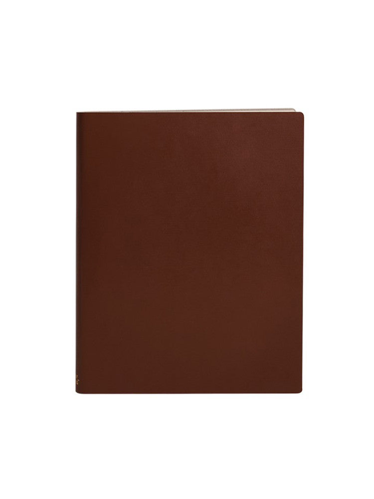 Paperthinks Recycled Leather Extra Large Notebook - Tan - Paperthinks.us
