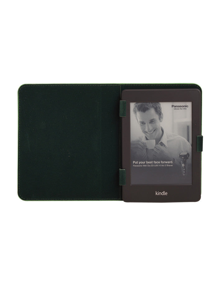Paperthinks Recycled Leather E-Reader Case - Mint Green - Paperthinks.us