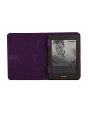 Paperthinks Recycled Leather E-Reader Case - Violet - Paperthinks.us
