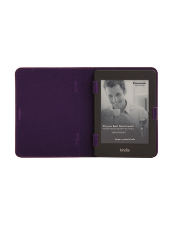 Paperthinks Recycled Leather E-Reader Case - Burgundy