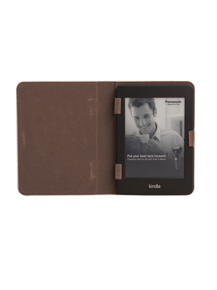 Paperthinks Recycled Leather E-Reader Case - Ivory - Paperthinks.us