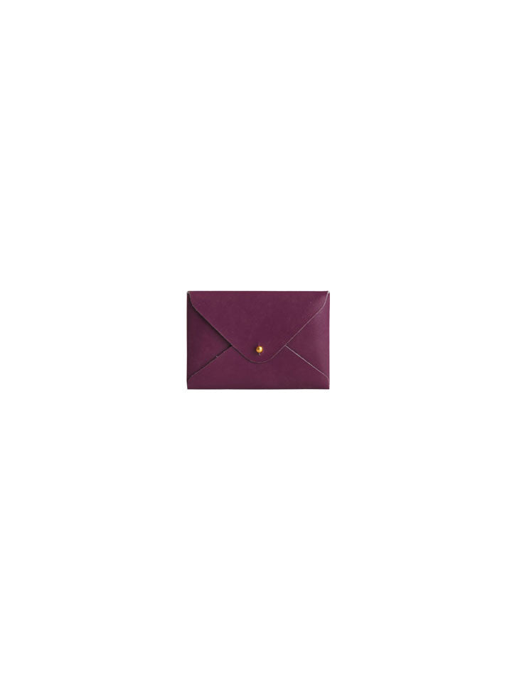 Mini File Folder - Burgundy