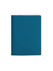 Large Notebook; Ruled - Turquoise