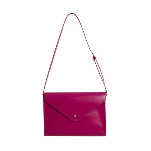 Large Envelope Bag - Rubine Red