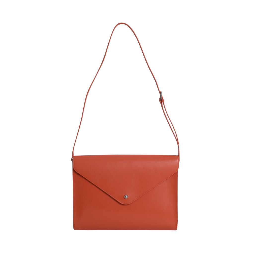 Large Envelope Bag - Tangerine - Paperthinks.us
