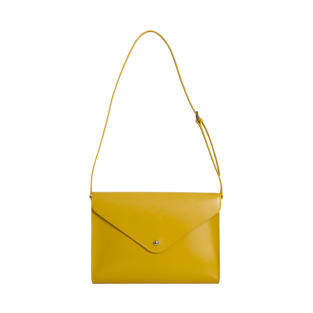 Large Envelope Bag - Yellow Gold - Paperthinks.us