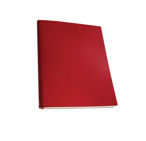 Extra Large Notebook - Scarlet Red