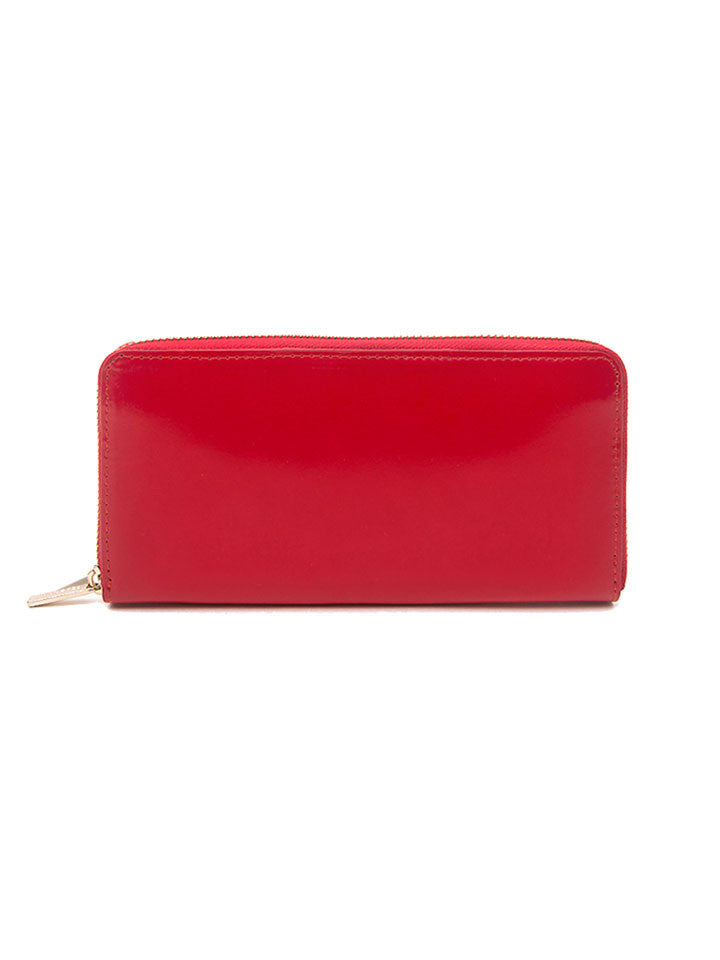 Paperthinks Recycled Leather Full Size Wallet - Scarlet Red - Paperthinks.us