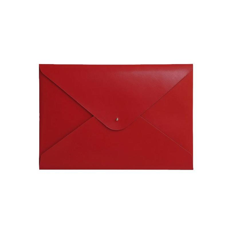 Large Document Folder - Scarlet Red - Paperthinks.us