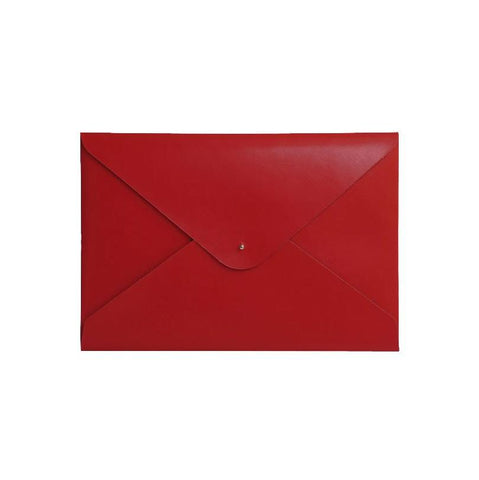 Large Document Folder - Scarlet Red