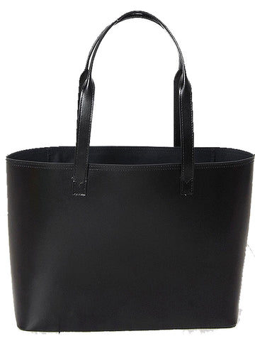 Paperthinks Recycled Leather Small Tote Bag Black