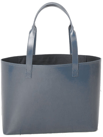 Paperthinks Recycled Leather Small Tote Bag Gray