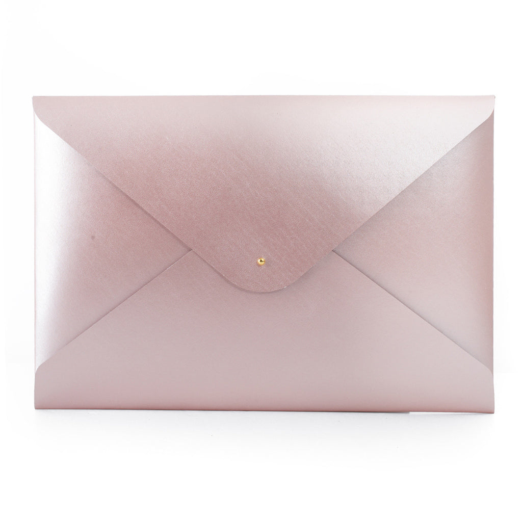 Large Document Folder - Rose Gold