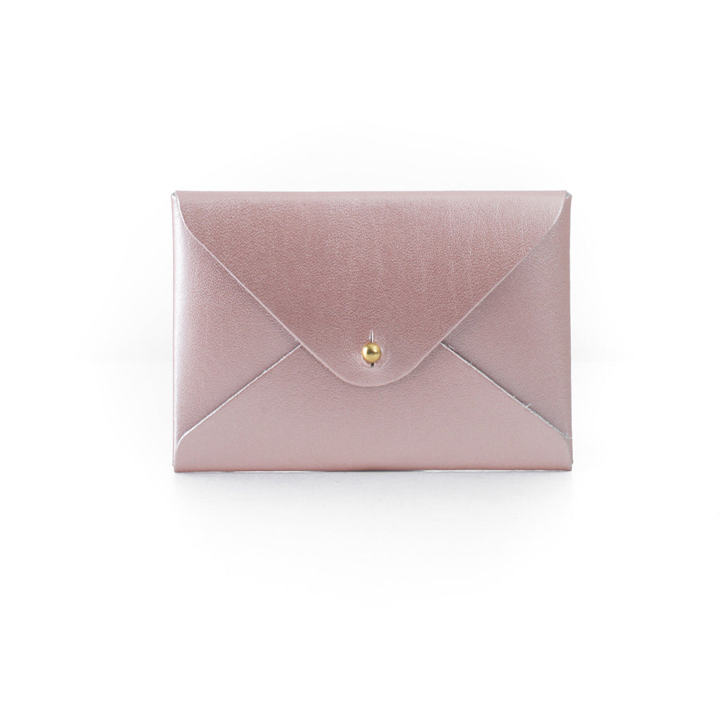 Mini Folder Card Holder - Rose Gold