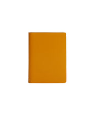 Paperthinks Recycled Leather Pocket Notebook Ruled 3.5 x 5 Inch - Yellow Gold - Paperthinks.us