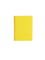 Paperthinks Recycled Leather Pocket Notebook Ruled 3.5 x 5 Inch- Baby Maize - Paperthinks.us